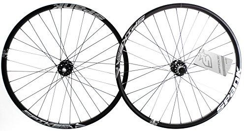 "SPANK SPIKE RACE28 EVO DH/MTB 10 Sp 27.5"" 650B Disc Bike Wheelset 32h Black"