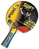 Fox TT Unisex Swift 4 Star Table Tennis Bat, Red by Fox TT