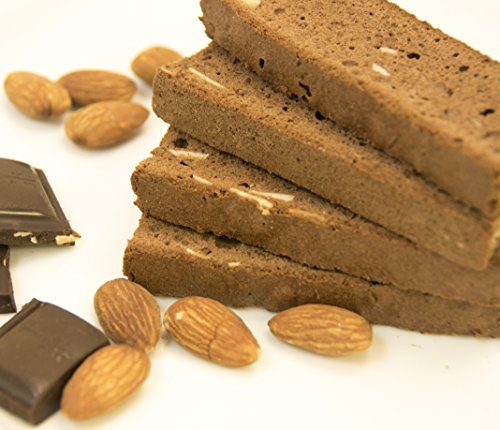 Almond Fat Free Biscotti - Irene's Bakery All Natural Fat Free Chocolate Almond Biscotti