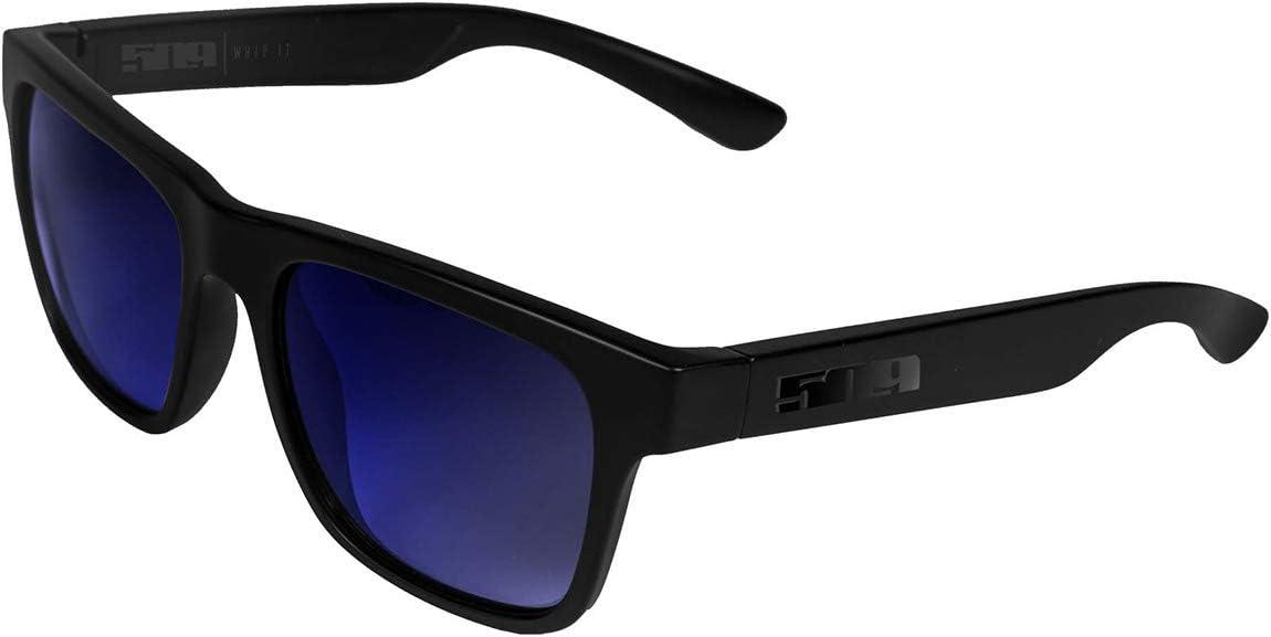 509-SUN-WHP-8GC 509 Whipit Sunglasses Matte Gray Polarized Chrome Mirror Lens