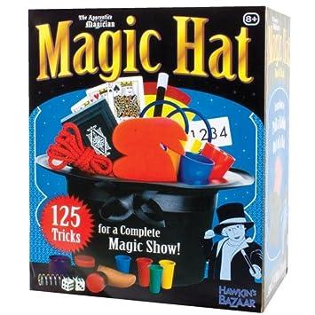 Tobar sombrero mágico - caja con el sombrero de magia y trucos de magia   Amazon.es  Juguetes y juegos 34aa4a43d7e