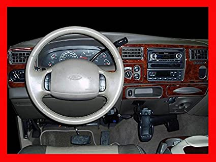 Amazon Com Ford Excursion Interior Burl Wood Dash Trim Kit Set 2000