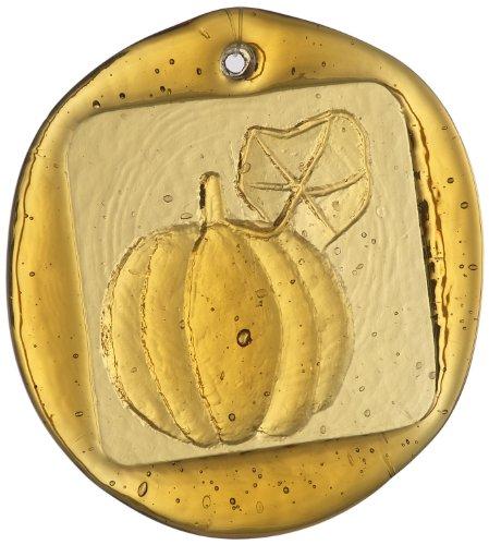 Kitras Pumpkin Suncatcher, Amber (Pumpkin Suncatcher)