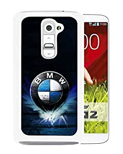 BMW 4 White Fashionable Design LG G2 Plastic Case