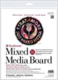 Strathmore (564-8 500 Series Mixed Media Board, Vellum, 8''x10'', 6 Sheets