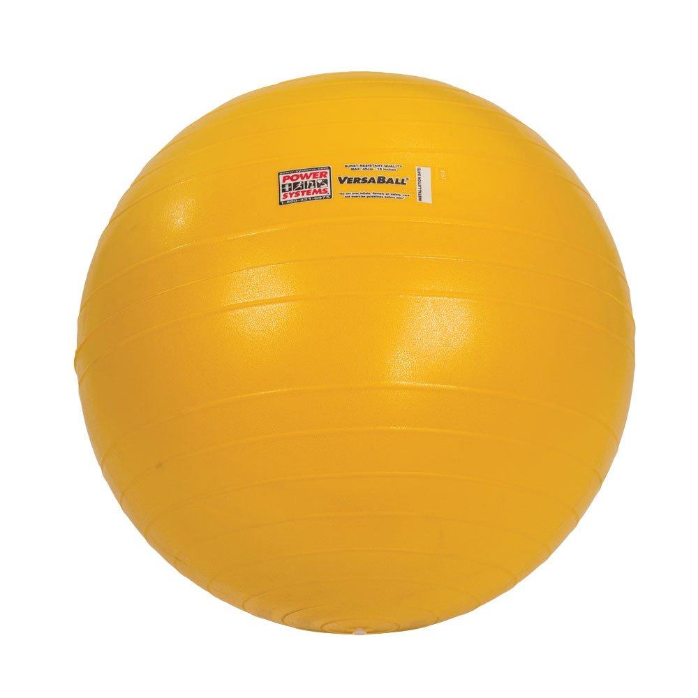 Power Systems VersaBall Stability Ball, 45cm, Sunrise Gold