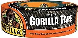 12yd Black Gorilla Tape (Pack of 3)