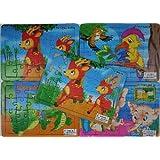 40 St. KINDER PUZZLE lustige Motive 24 Teile Spielzeug Wurfartikel Werbeartikel