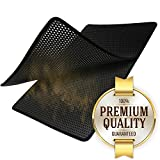 Motliner XXL Premium Cat Litter Catcher Trap Mat (31.5'' x 21'') - Easy to Clean, Durable, Odor Repellent, Stink Free, Waterproof Layer (Urine Does Not Seep Through), Soft for Sensitive Kitties