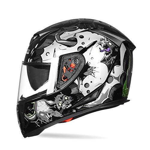 Helm Motorrad Motocross Jugend Kinderhelm DOT Approved Motorrad Moped Motorrad Offroad Vollgesichtscrash Downhill DH…