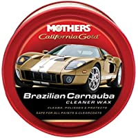 Mothers 05500 California Gold Brazilian Carnauba Cleaner Wax Paste - 12 oz