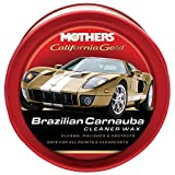 Mothers 05500 California Gold Brazilian Carnauba Cleaner Wax - 12 oz
