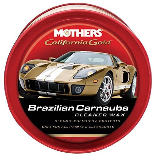 - Mothers 05500 California Gold Brazilian Carnauba Cleaner Wax Paste - 12 oz.