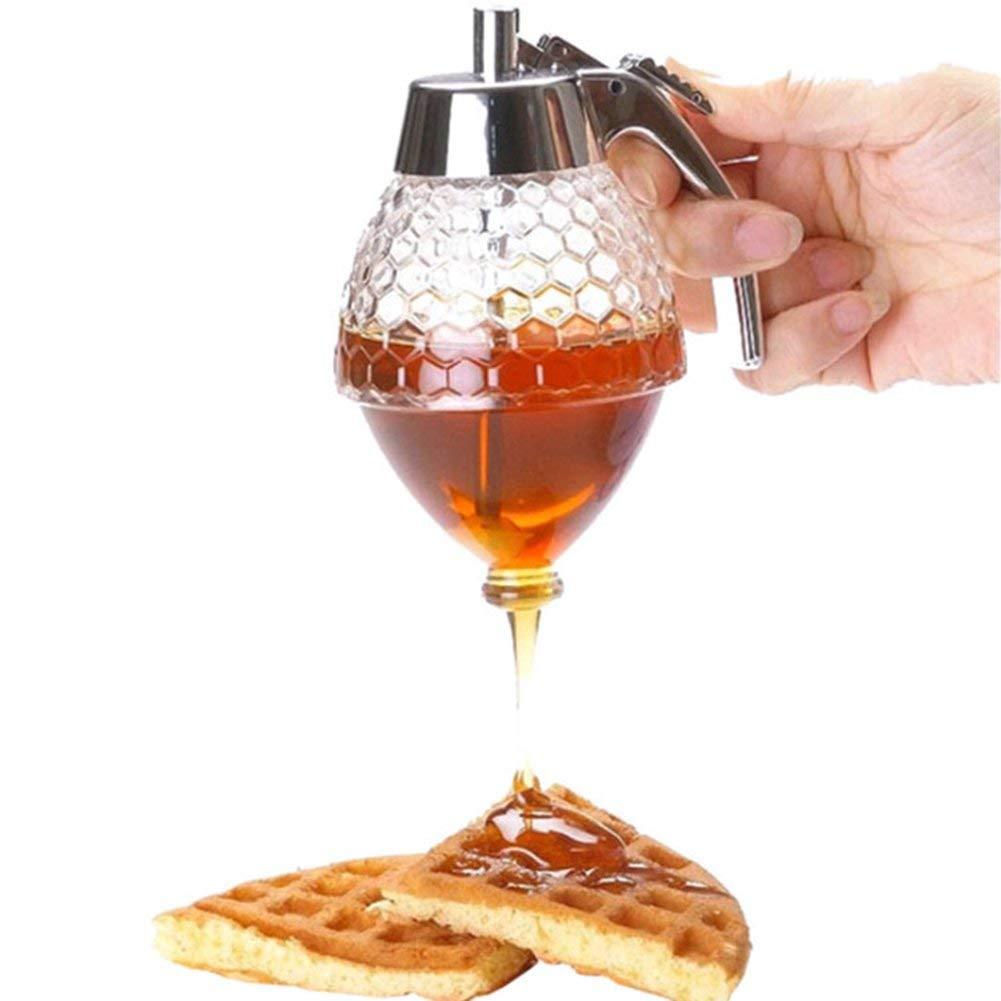 REHYTSG Distributeur de jus de pulpe, distributeur de sirop de miel pour la distribution de jus, miel, jus