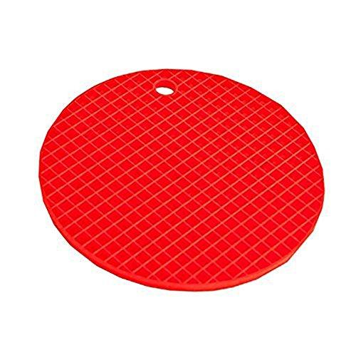 lumanuby Salvamanteles Redondo Silicona Resistente al calor para colgar Salvamanteles Posavasos Bar Home Party boda color lila 18//× 18//× 0.8/cm