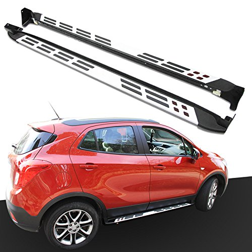 HEKA Pair Platform Iboard Side Step for Vauxhall BUICK Encore OPEL Mokka 2012-2018 Running Board Nerf Bar
