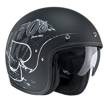 HJC 165555 M Casco Moto, Negro, ...