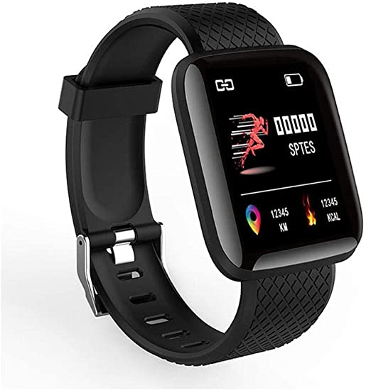 ONERIOME Waterproof Bluetooth Sports Smart Wristband Bracelet Fitness Tracker Smart Watches Compatible iPhone iOS Samsung Android Men Women Kids