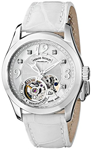 Armand Nicolet Women's 9653A-AN-P953BC8 LL9 Limited Edition Stainless Steel Classic Automatic Watch
