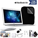 Apple 13.3 MacBook Air Laptop Computer MMGG2LL/A With Case, Corel Software, Magic Mouse, and Accidental Warranty - Essentials Bundle