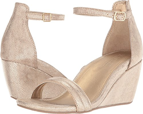 Kenneth Cole REACTION Womens Cake Shop 2 Soft Gold Synthetic 8 M (Shop Womens)