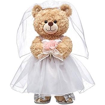 5e9c563bc1c Amazon.com  Build A Bear Workshop Happy Hugs Teddy Bear Valentine s ...
