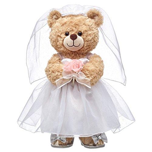 - Build A Bear Workshop Happy Hugs Teddy Bear Bride Gift Set