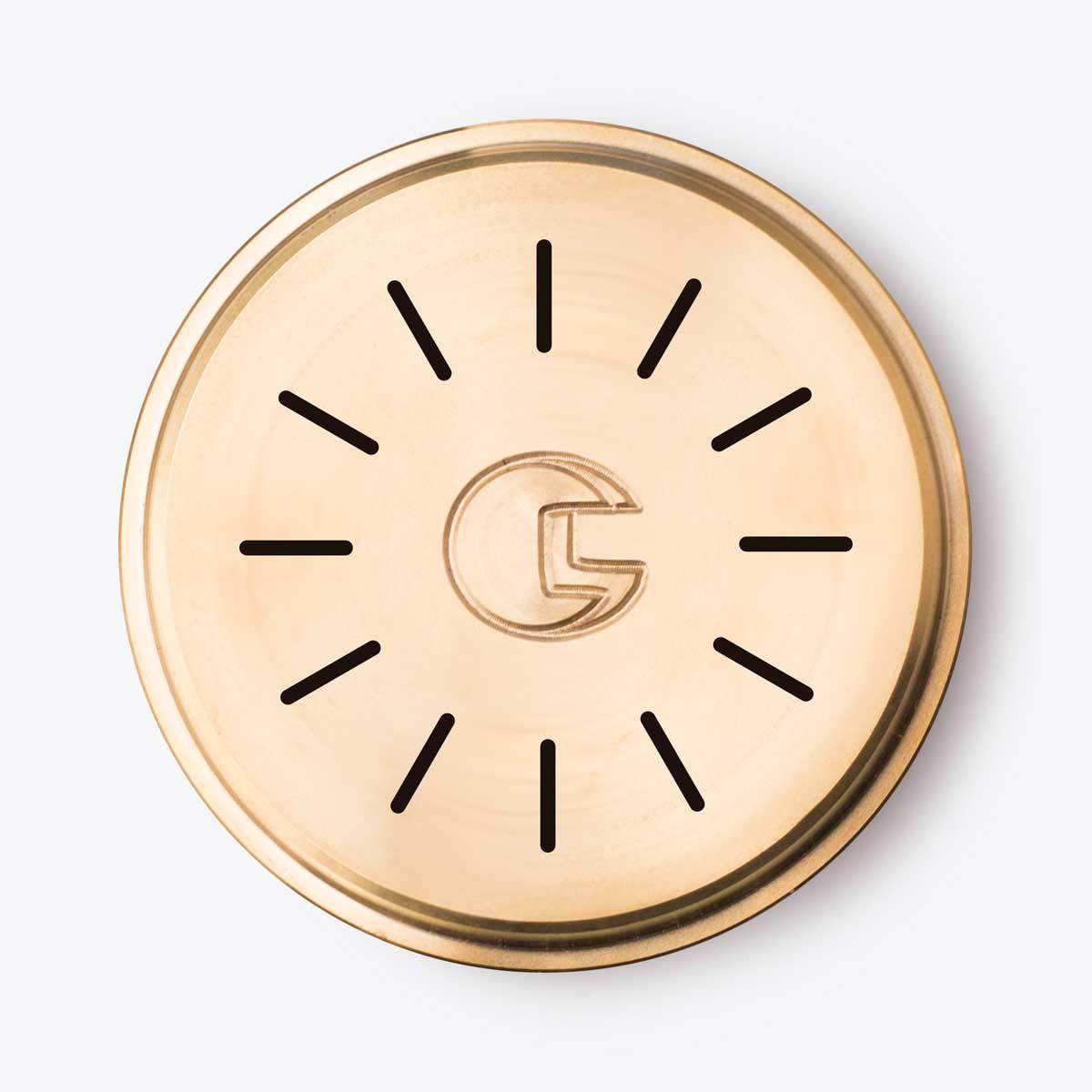 Trafila per pasta in bronzo N°104 TAGLIATELLE 6mm per Kenwood, Philips Pasta Maker, Philips Viva Collection CAPITANIO CAMILLO SNC