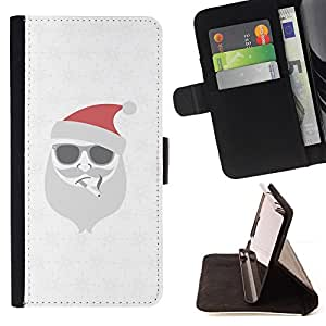 Jordan Colourful Shop - white Christmas winter holidays For Samsung Galaxy S4 IV I9500 - Leather Case Absorci???¡¯???€????€???????&bd