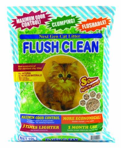 Next Gen Pet Flush Clean Cat Litter 6 Pound Bag (Alternative To Clay Cat Litter compare prices)