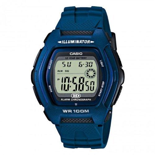 Casio Gents Watches - Casio HDD-600C-2AVES Gents Watch Quartz Digital Grey Dial