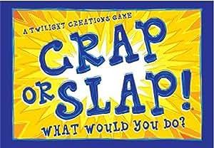 Crap or slap juguetes y juegos for Slap juego de mesa