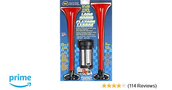 Amazon.com: Wolo (417) Long Horns Big Rig Sound - 12 Volt, Low and High Tone: Automotive