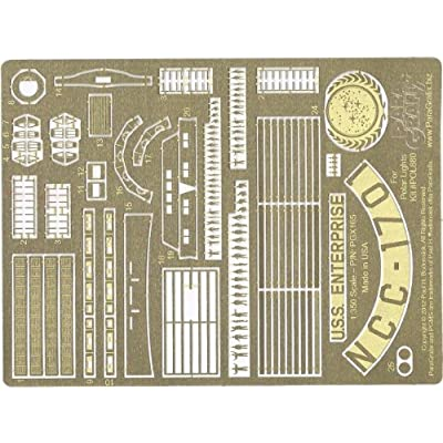Paragrafix - 1:350 TOS Enterprise Supplemental Photoetch Set - PGX165: Arts, Crafts & Sewing