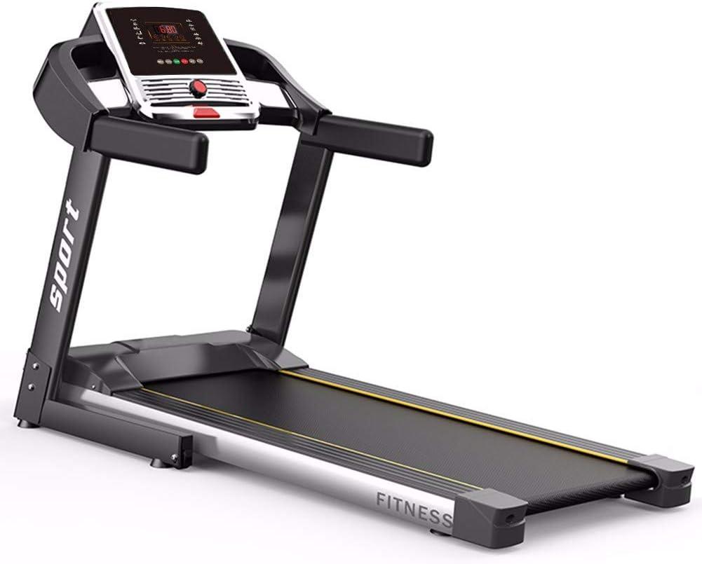 XCBY Cinta Caminar Electrica Plegable Cinta de Correr Modelo 2020- Nueva Consola - | 1.5HP a 12 km/h | Cinta de Andar con 12 programas, Plegable Caminadora Electrica para Casa PL110