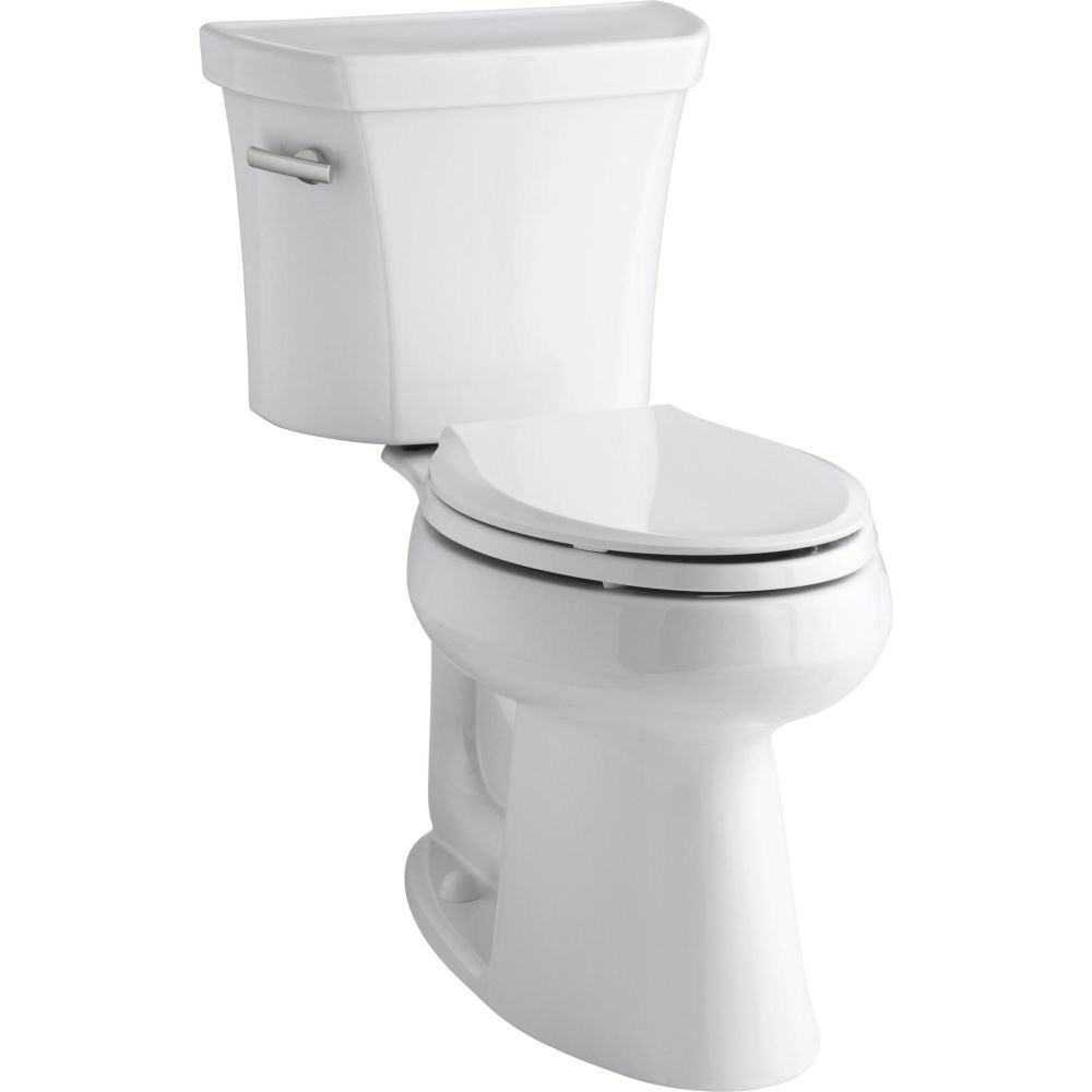 Kohler K-3889-0 Highline Comfort Height 1.28 gpf Toilet, 10-inch Rough-In, White by Kohler