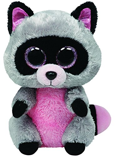 Amazon.com  Ty Beanie Boos - Rocco the Raccoon 15cm  Toys   Games 8365e5d6aa2
