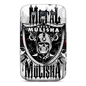 New Snap-on AlikonAdama Skin Cases Covers Compatible With Galaxy S3- Metal Mulisha