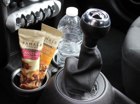 Grab & Go in the car