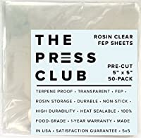 FEP Sheets 0.1mm 50 100 sheets by The Press Club