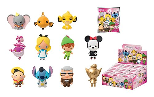 Disney Series 3 3D Foam Collectible Blind Bag Key Rings