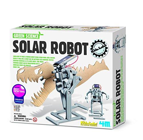 image 4M - 5603294 - Jeu Éducatif et Scientifique - Science Robot Solaire - Vert