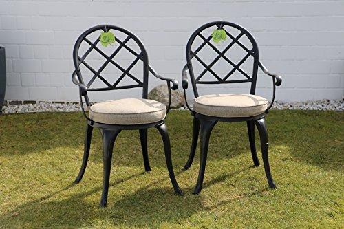 Sedie Da Giardino In Ferro : Made for us sedie da giardino in alluminio pressofuso