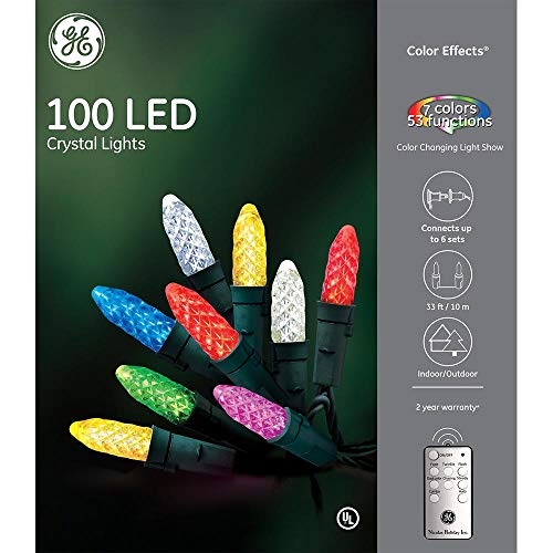 50 Ct Multi Color Led C9 Christmas Lights in US - 9