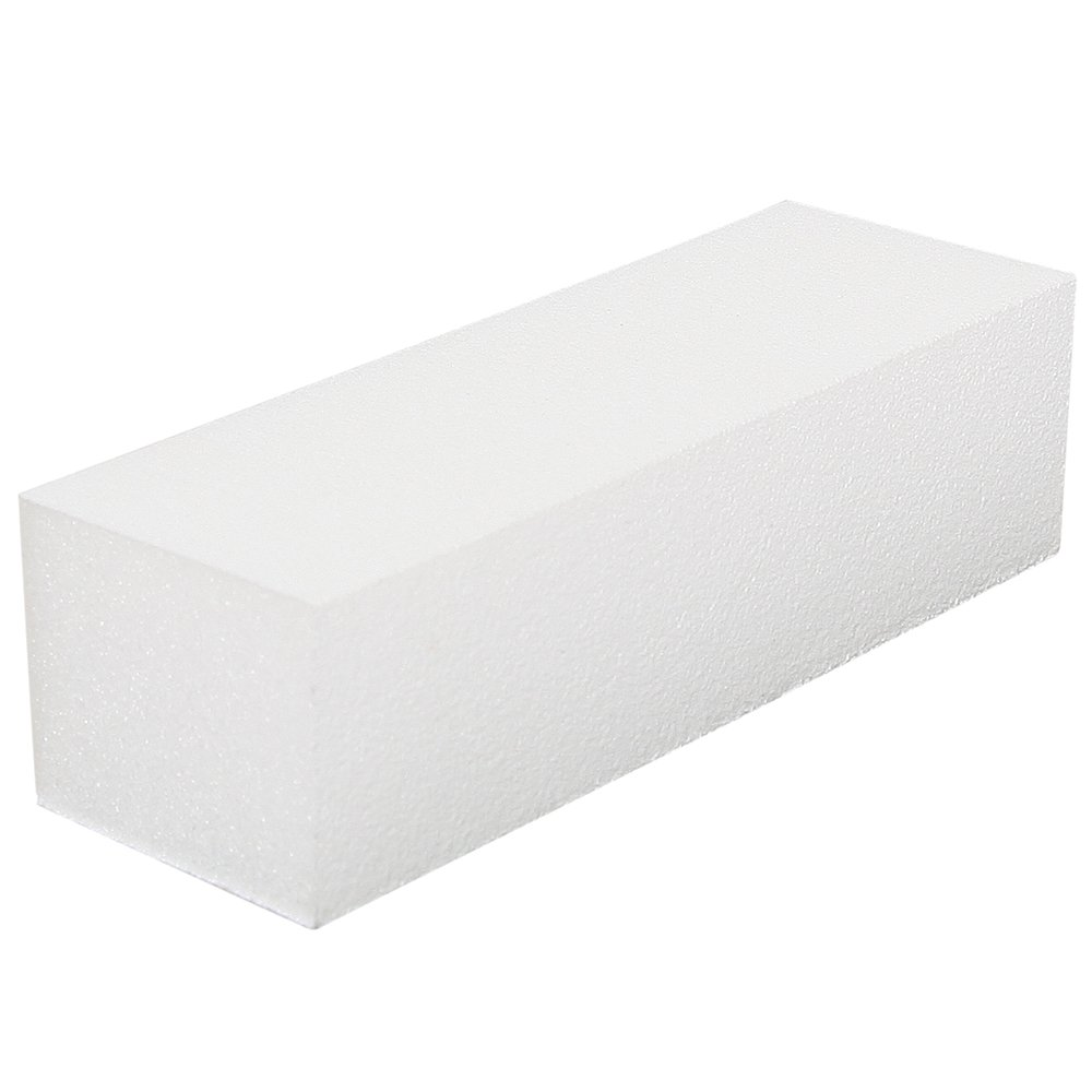 For Pro Polar Buffing Block 80/150 Grit, White, 500 Count
