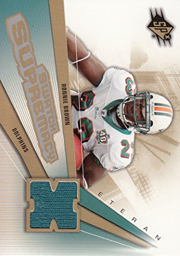 2006 SPx Swatch Supremacy #SWRB Ronnie Brown Jersey