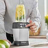 Ninja Auto-iQ Nutri Ninja Blender, Platinum | BL480