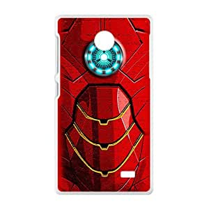 Red armour Cell Phone Case for Nokia Lumia X