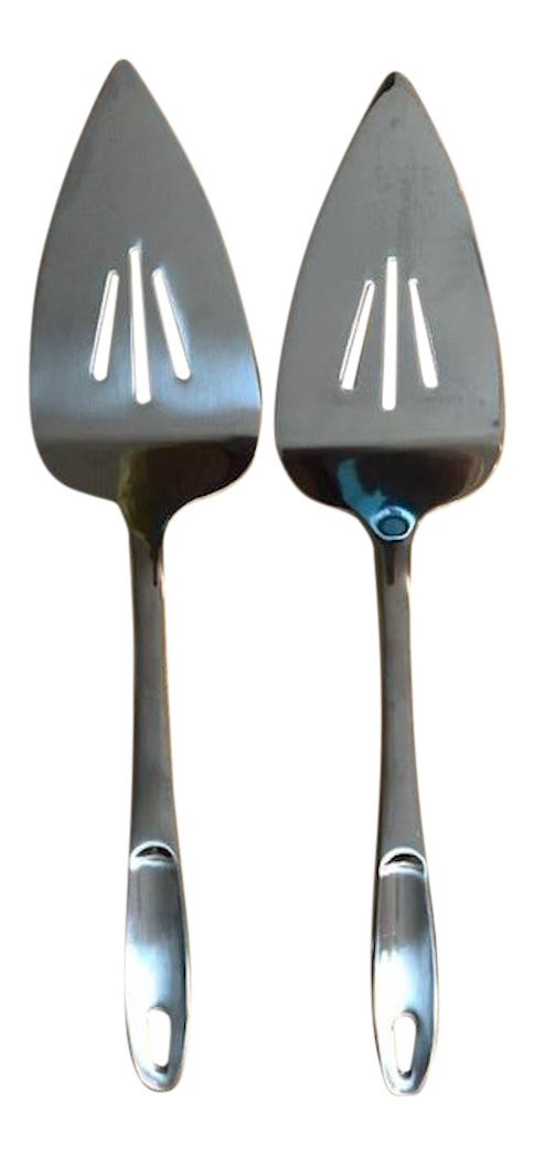 Stainless Steel Pie Cake Server Pack of 2
