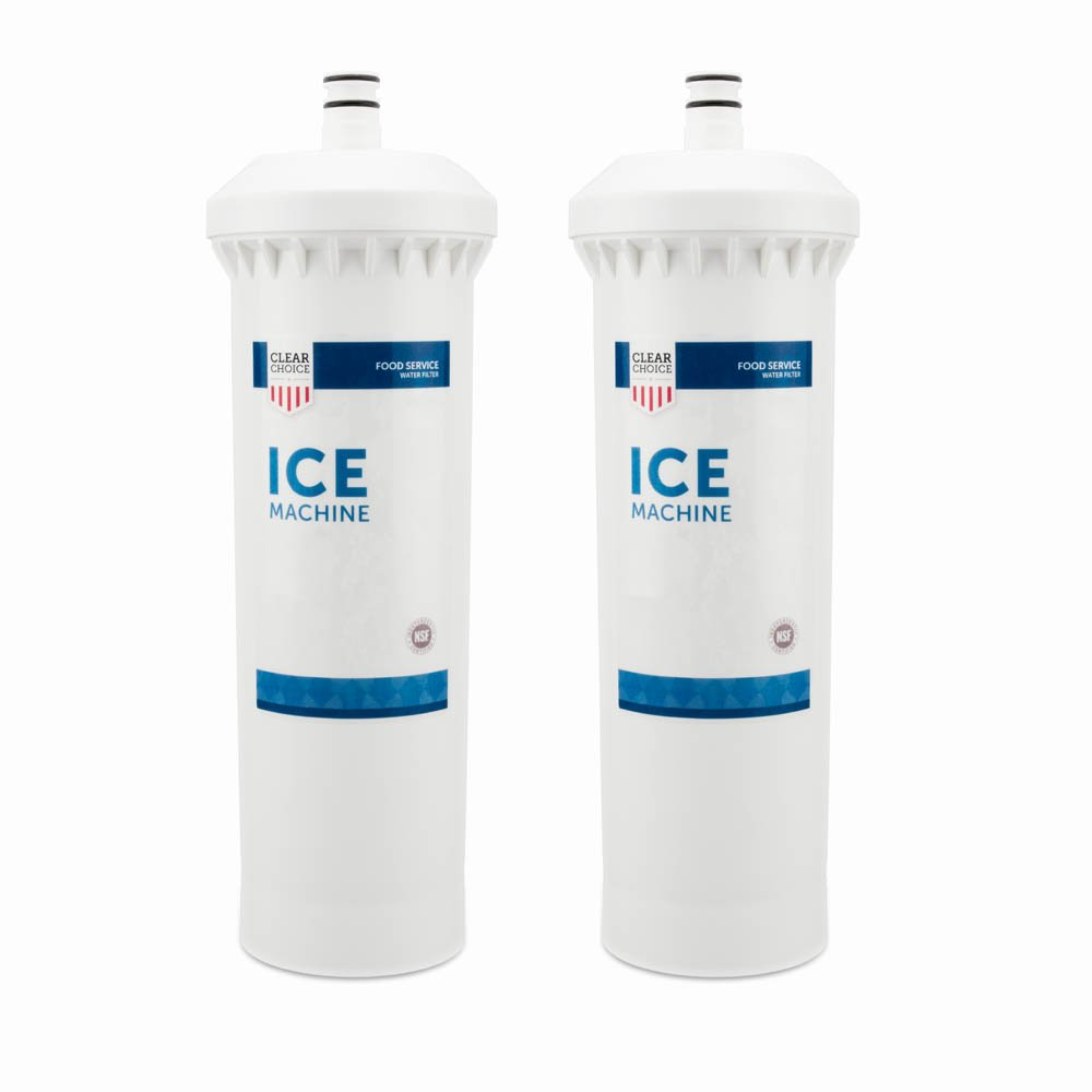 Clear Choice Ice Filtration System Replacement Cartridge for CUNO 55600-01 55600-09 AP500 AP510 AP51706 AP522 CFS517 CS-61 CS500 Also Compatible with 3M 70020015189 70020041458 70020041466, 2-Pack